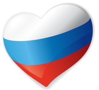 Herz für Russland