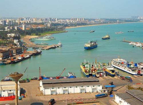 Hafen Haikou