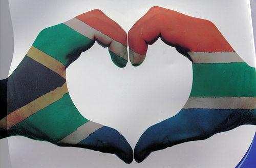 Herz für Südafrika