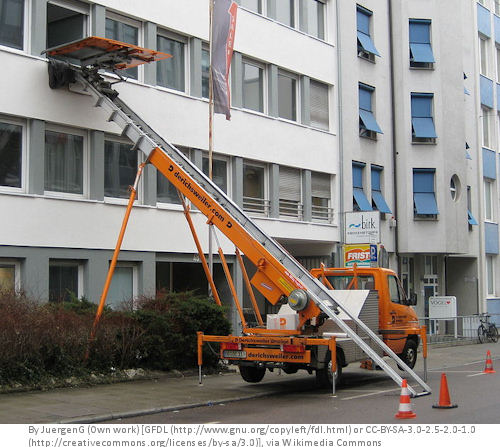 Häufig Lastenaufzug für den Umzug mieten - targum - Umzugsberatung SE39